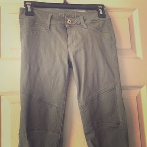 DL1961 Harlow Moto Olive Jeans!